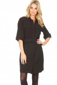 Dante 6    Dress crêpe fabric Chevanne   black    Picture 4