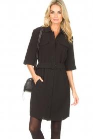 Dante 6    Dress crêpe fabric Chevanne   black    Picture 2