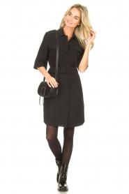 Dante 6    Dress crêpe fabric Chevanne   black    Picture 3