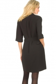 Dante 6    Dress crêpe fabric Chevanne   black    Picture 6