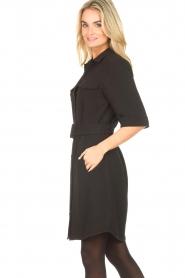 Dante 6    Dress crêpe fabric Chevanne   black    Picture 5