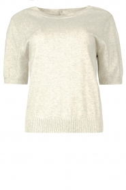 JC Sophie |  Cotton sweater Ginny | grey  | Picture 1