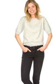 JC Sophie |  Cotton sweater Ginny | grey  | Picture 4