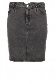 Dante 6    Washed denim skirt Emily   black    Picture 1
