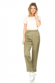 JC Sophie |  Tencel pants Greta | green  | Picture 4