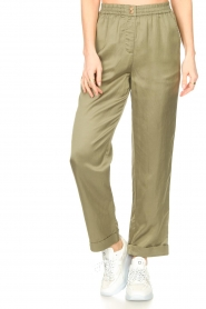 JC Sophie |  Tencel pants Greta | green  | Picture 6