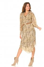 Dante 6 |  Midi skirt with lurex Turi | natural  | Picture 3