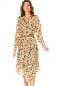 Dante 6 |  Midi skirt with lurex Turi | natural  | Picture 4