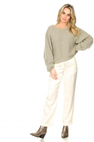 JC Sophie :  Tencel pants Greta | natural - img3
