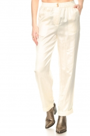 JC Sophie :  Tencel pants Greta | natural - img4