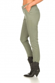 JC Sophie :  Cotton chino pants Gray | green - img5