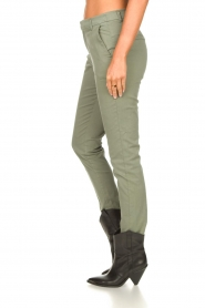 JC Sophie :  Cotton chino pants Gray | green - img6