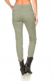 JC Sophie :  Cotton chino pants Gray | green - img7