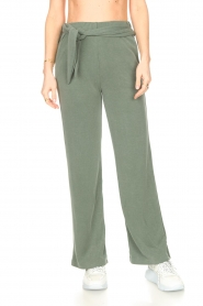 JC Sophie |  Trousers Gustava | green  | Picture 4