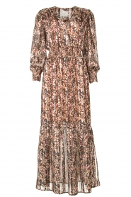 Dante 6 |  Maxi dress with lurex Elisabel | multi  | Picture 1