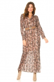Dante 6 |  Maxi dress with lurex Elisabel | multi  | Picture 3