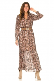 Dante 6 |  Maxi dress with lurex Elisabel | multi  | Picture 2