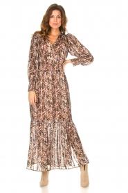Dante 6 |  Maxi dress with lurex Elisabel | multi  | Picture 4