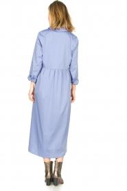 JC Sophie |  Cotton midi dress Guinevere | blue  | Picture 5