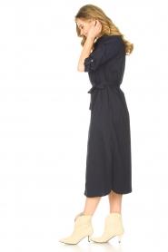 JC Sophie |  Midi button-up dress Gretchen | blue  | Picture 5