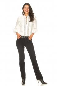 Dante 6 |  Cotton broderie blouse Bijou | white  | Picture 4