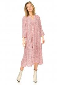 JC Sophie |  Floral midi dress Georgia | pink  | Picture 2