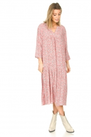 JC Sophie |  Floral maxi dress Georgia | pink  | Picture 3