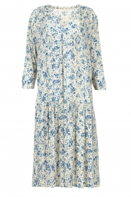 JC Sophie |  Floral midi dress Georgia | blue  | Picture 1