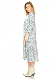 JC Sophie |  Floral midi dress Georgia | blue  | Picture 3