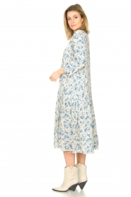 JC Sophie |  Floral midi dress Georgia | blue  | Picture 4