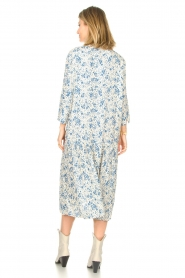 JC Sophie |  Floral midi dress Georgia | blue  | Picture 5