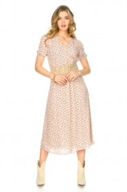 JC Sophie |  Floral maxi dress Geranium | pink   | Picture 3