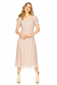 JC Sophie |  Floral maxi dress Geranium | pink   | Picture 2