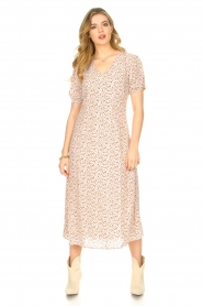 JC Sophie |  Floral maxi dress Geranium | pink   | Picture 4