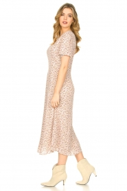 JC Sophie |  Floral maxi dress Geranium | pink   | Picture 5