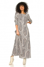 JC Sophie |  Maxi dress Geraldine | blue  | Picture 2