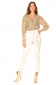 Dante 6    Top with lurex Glorie   natural    Picture 3