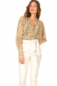 Dante 6    Top with lurex Glorie   natural    Picture 4