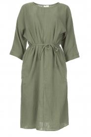 JC Sophie |  Cotton dress Graziella | green  | Picture 1