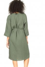 JC Sophie |  Cotton dress Graziella | green  | Picture 8