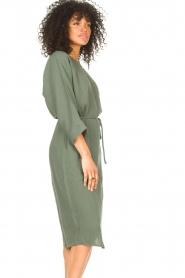 JC Sophie |  Cotton dress Graziella | green  | Picture 7