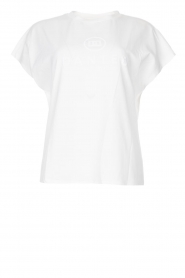 Dante 6 |  Cotton T-shirt with logo Bold | white  | Picture 1
