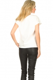 Dante 6 |  Cotton T-shirt with logo Bold | white  | Picture 8