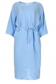 JC Sophie |  Cotton dress Graziella | blue  | Picture 1