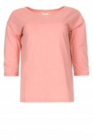 Blaumax |  Cotton T-shirt Garta | pink