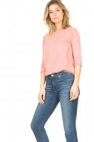 Blaumax | Katoenen T-shirt Garta | roze  | Afbeelding 3