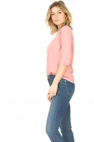 Blaumax | Katoenen T-shirt Garta | roze  | Afbeelding 4