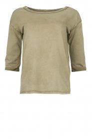 Blaumax |  Cotton T-shirt Garta | green  | Picture 1