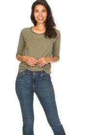 Blaumax |  Cotton T-shirt Garta | green  | Picture 2