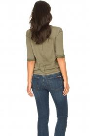 Blaumax |  Cotton T-shirt Garta | green  | Picture 5